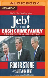 Omslag - Jeb! and the Bush Crime Family