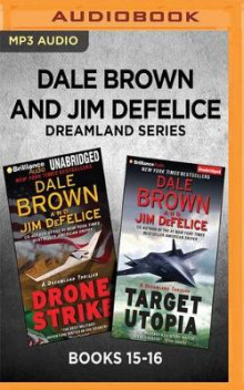 Dale Brown and Jim DeFelice Dreamland Series: Books 15-16 av Dale Brown og Jim DeFelice (Lydbok-CD)