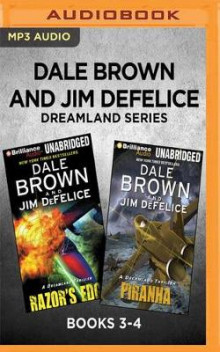Dale Brown and Jim DeFelice Dreamland Series: Books 3-4 av Dale Brown og Jim DeFelice (Lydbok-CD)