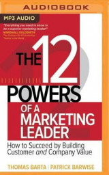 Omslag - The 12 Powers of a Marketing Leader