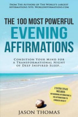 Omslag - Affirmation the 100 Most Powerful Evening Affirmations 2 Amazing Affirmative Bonus Books Included to Conquer Anxiety & for Morning