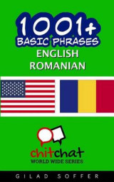 Omslag - 1001+ Basic Phrases English - Romanian