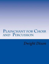 Omslag - Plainchant for Choir and Percussion