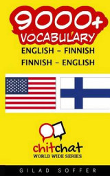 Omslag - 9000+ English - Finnish Finnish - English Vocabulary