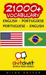 Omslag - 21000+ English - Portuguese Portuguese - English Vocabulary