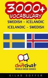 Omslag - 3000+ Swedish - Icelandic Icelandic - Swedish Vocabulary