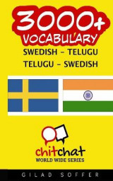 Omslag - 3000+ Swedish - Telugu Telugu - Swedish Vocabulary