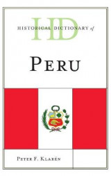 Omslag - Historical Dictionary of Peru