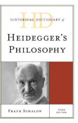 Omslag - Historical Dictionary of Heidegger's Philosophy