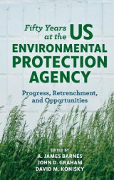 Omslag - Fifty Years at the US Environmental Protection Agency