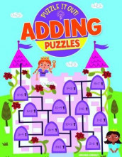 Adding Puzzles av Lisa Regan og Paul Virr (Innbundet)
