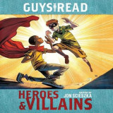 Omslag - Guys Read: Heroes & Villains