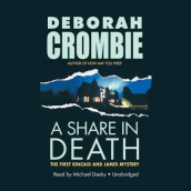 A Share in Death av Deborah Crombie (Lydbok-CD)