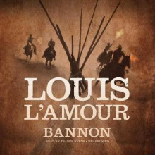 Bannon av Louis L'Amour (Lydbok-CD)
