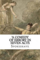 Omslag - 'A Comedy of Errors' in Seven Acts