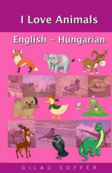 Omslag - I Love Animals English - Hungarian