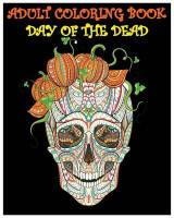 Omslag - Adult Coloring Book Day of the Dead