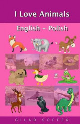 Omslag - I Love Animals English - Polish