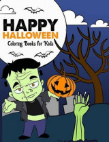 Omslag - Happy Halloween Coloring Books for Kids