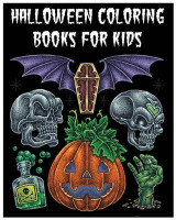 Omslag - Halloween Coloring Books for Kids