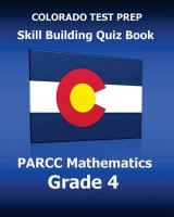 Omslag - Colorado Test Prep Skill Building Quiz Book Parcc Mathematics Grade 4