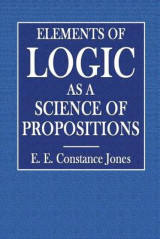 Omslag - Elements of Logic as a Science of Propositions