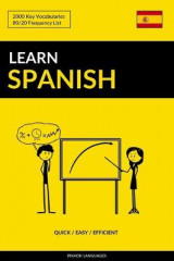 Omslag - Learn Spanish - Quick / Easy / Efficient