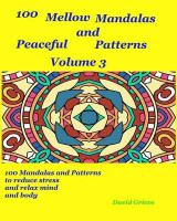 Omslag - 100 Mellow Mandalas and Peacefull Patterns Volume 3