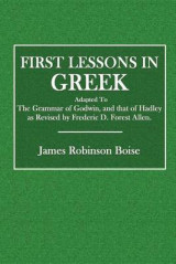 Omslag - First Lessons in Greek