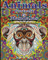 Omslag - Animals Portrait & Mandalas
