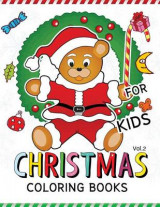 Omslag - Christmas Coloring Books for Kids Vol.2