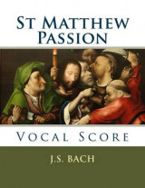 Omslag - St Matthew Passion