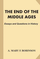 Omslag - The End of the Middle Ages