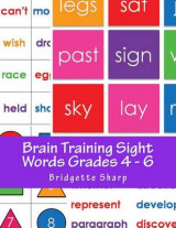 Omslag - Brain Training Sight Words Grades 4 - 6