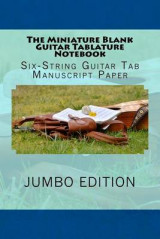 Omslag - The Miniature Blank Guitar Tablature Notebook