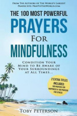 Omslag - Prayer the 100 Most Powerful Prayers for Mindfulness 2 Amazing Bonus Books to Pray for Happiness & Stress