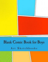 Omslag - Blank Comic Book for Boys