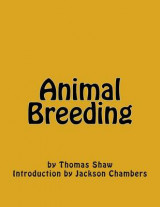 Omslag - Animal Breeding
