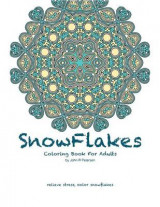 Omslag - Snowflakes Coloring Book for Adults