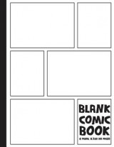 Omslag - Comics Books(blank Comic Book)