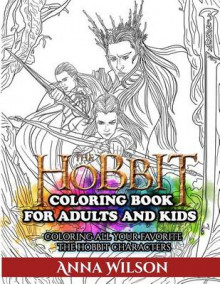 The Hobbit Coloring Book for Adults and Kids av Anna Wilson (Heftet)