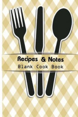 Omslag - Recipe & Notes Blank Cook Book