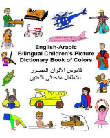 Omslag - English-Arabic Bilingual Children's Picture Dictionary Book of Colors