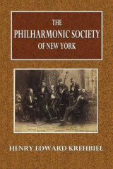 Omslag - The Philharmonic Society of New York