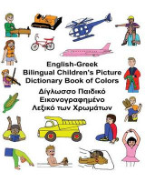 Omslag - English-Greek Bilingual Children's Picture Dictionary Book of Colors