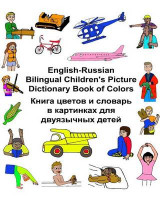 Omslag - English-Russian Bilingual Children's Picture Dictionary Book of Colors