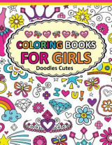 Omslag - Coloring Book for Girls Doodle Cutes