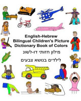 Omslag - English-Hebrew Bilingual Children's Picture Dictionary Book of Colors