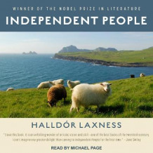 Independent People av Halldor Laxness (Lydbok-CD)