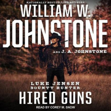 Hired Guns av William W. Johnstone og J. A. Johnstone (Lydbok-CD)